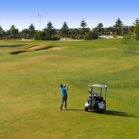 After 11am Golfing Experience: 18 Holes of Golf with Motorised Cart just $49 Mon-Fri, $59 Sat – Sun & Public Holidays