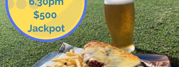 $25 Parmi and Pint and $500 Golden Putt set to go off!!