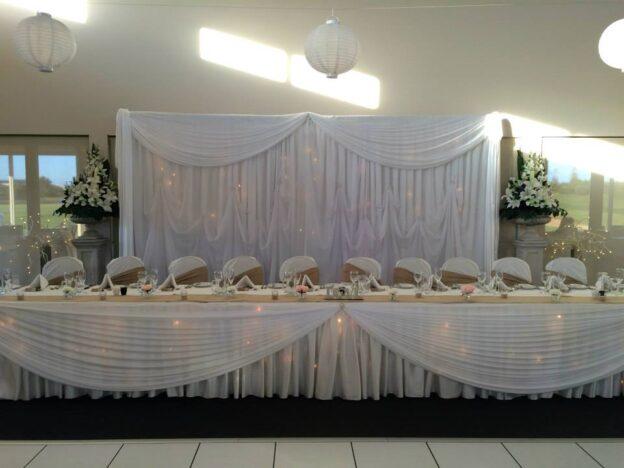 Bridal table Tina and JP